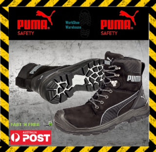 b928e5fef1a NEW! Puma Conquest 630737 ZipSide Safety Toe Scuff Cap Boot – Work ...