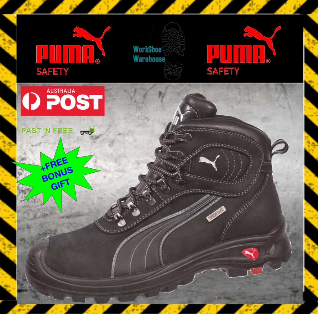 Puma Work Boots. 630527  Sierra Nevada  Composite Toe WATERPROOF ... 4c4f888cc