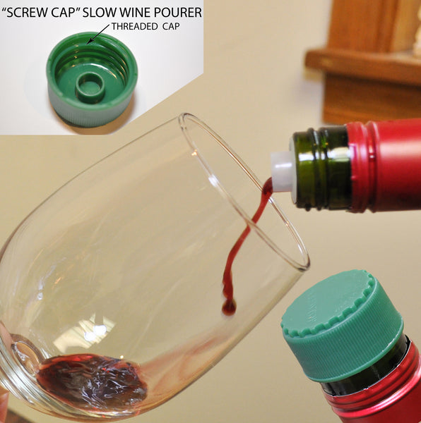 B8310 Slow Wine Pourers for Screw Cap Bottles