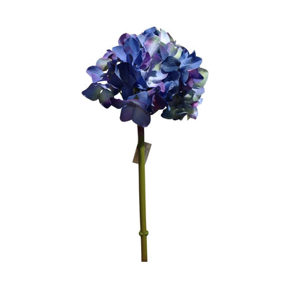Hortensia artificial azul
