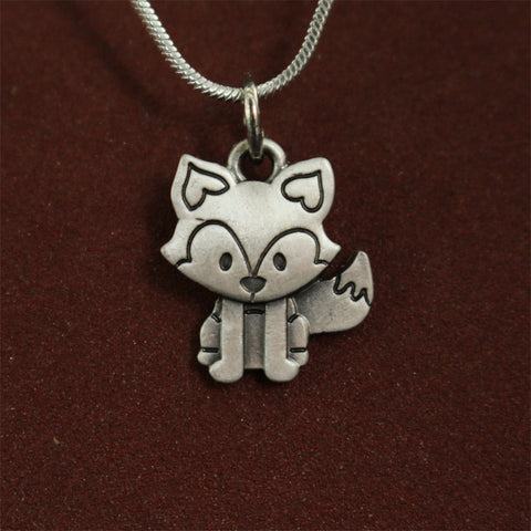 Image of Cute Tiny Fox Necklace