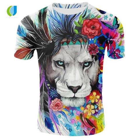 Image of 3D Lion T-shirt