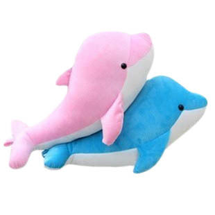 Dolphin Cuddly Soft Pillow