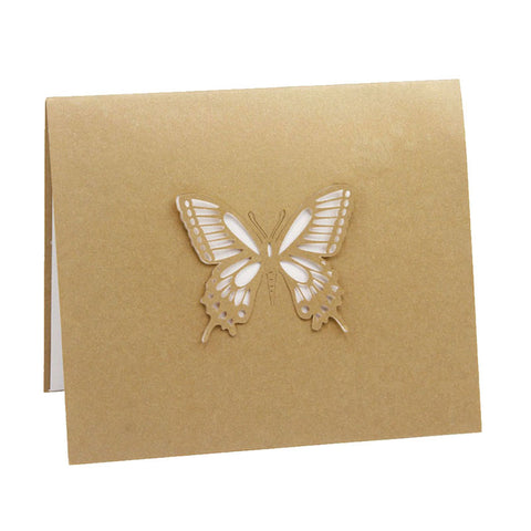 3D Pop Up Butterfly Greeting Card