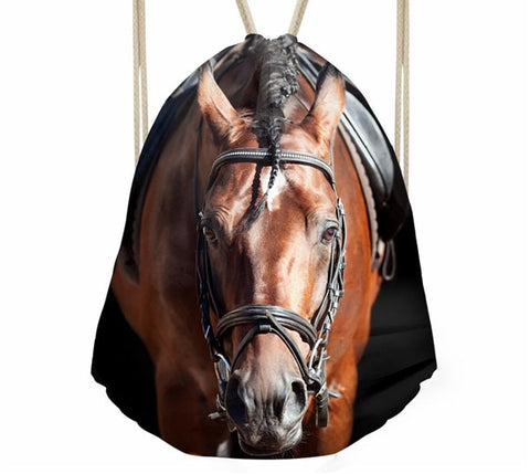 Image of 3D Horse Print Bag