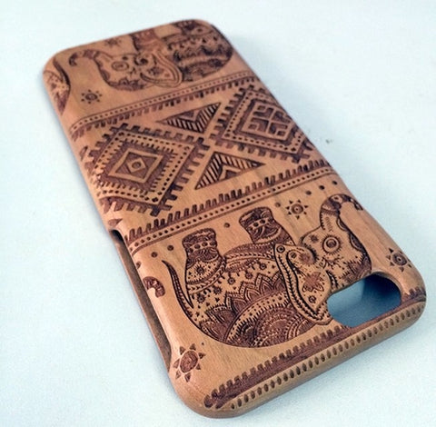 Image of Elephant Wood iPhone Case