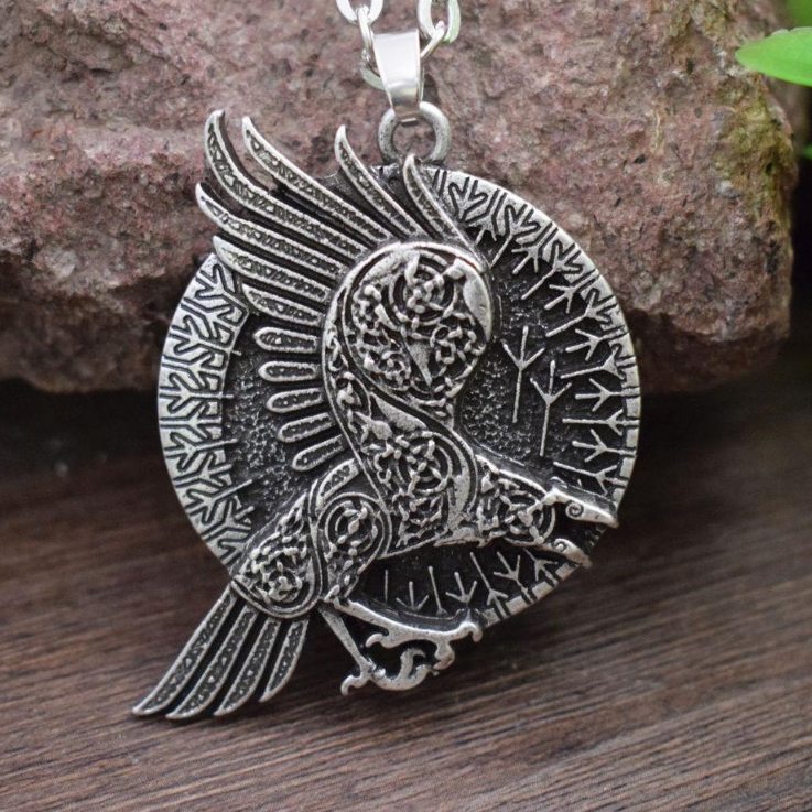 Raven Crow Necklace Spirit Animal Store