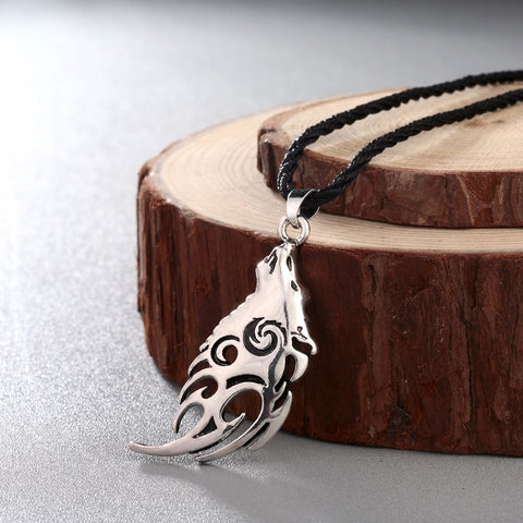 Image of Wolf Tribal Pendant