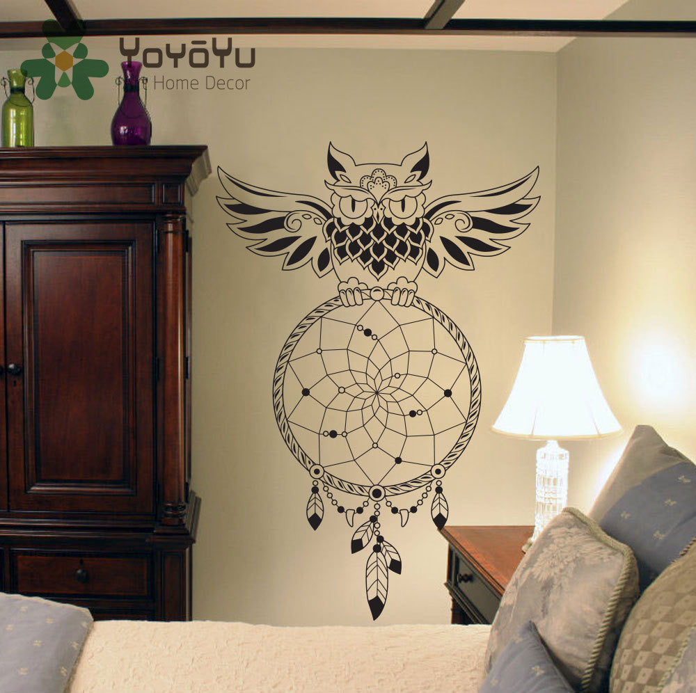 OWL Dream Catcher Wall Decor