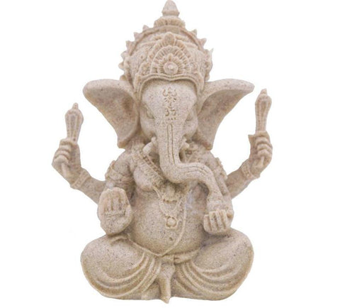 Image of Large Ganesha Elephant Sculpture
