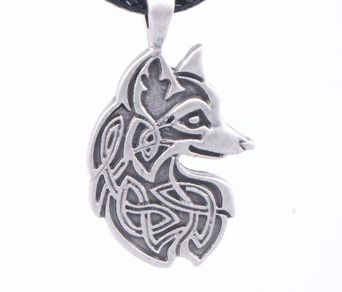 Metal Fox Necklace