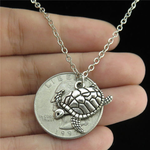 Image of Tortoise Sea Turtle Pendant