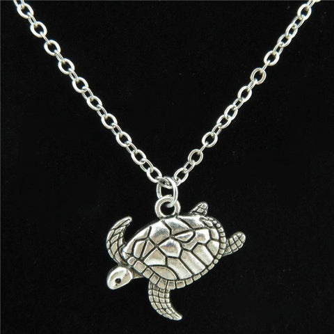 Tortoise Sea Turtle Pendant
