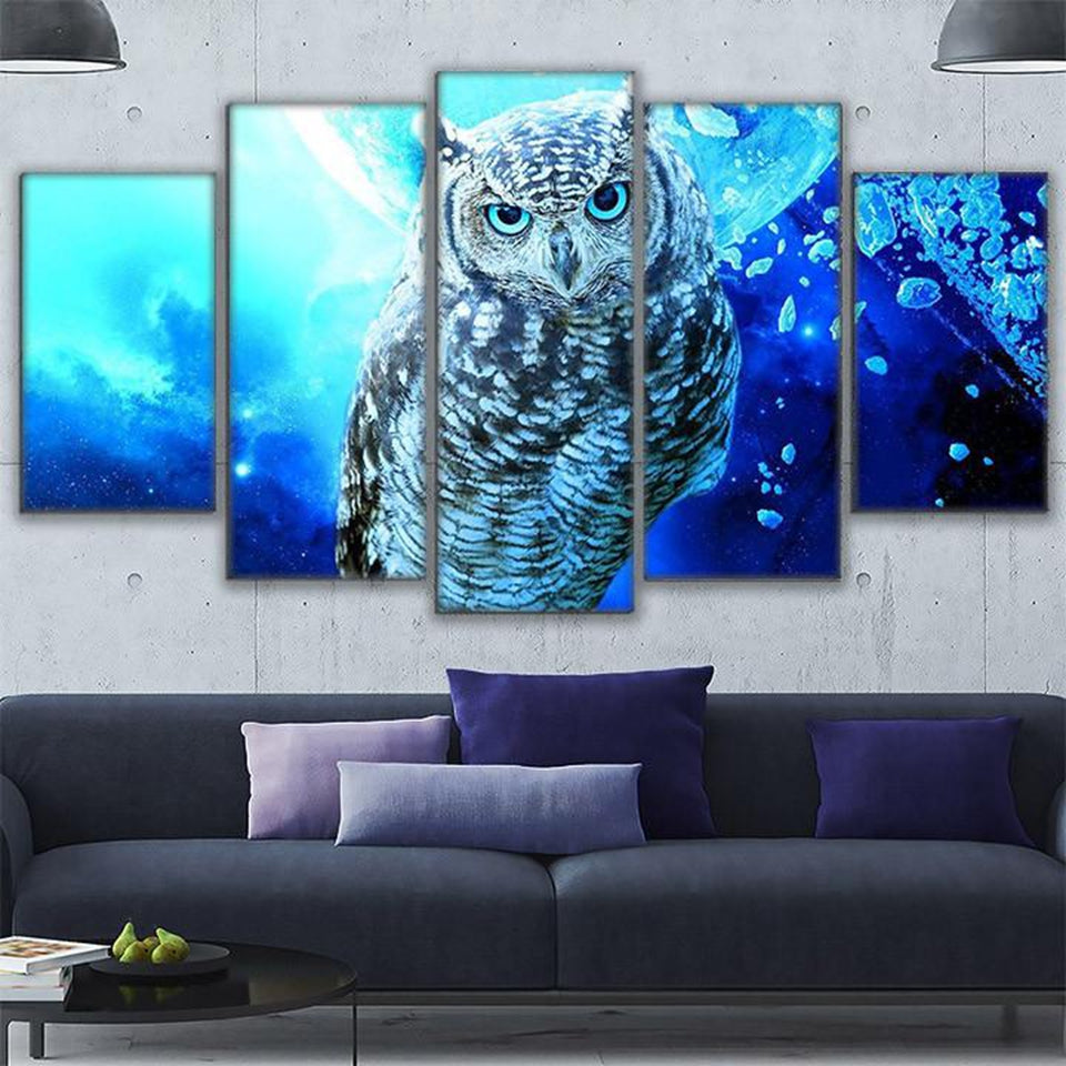 Owl Home Decor Wall Canvas. Tap To Expand