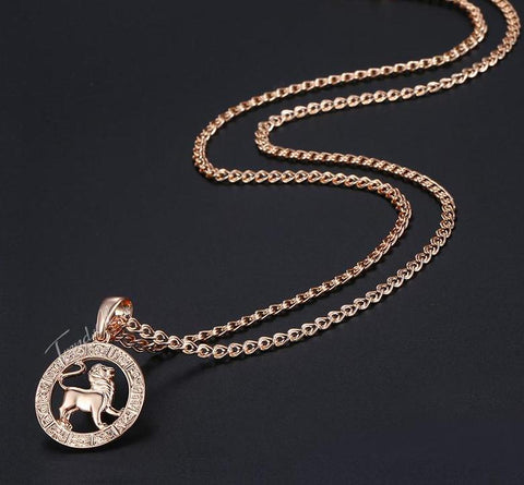 Image of Leo Constellation Pendant Necklace