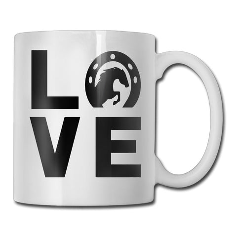 Love Horses Coffee Mug