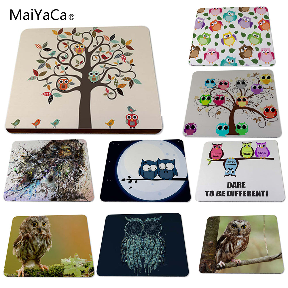 Owl Animal Mousepad