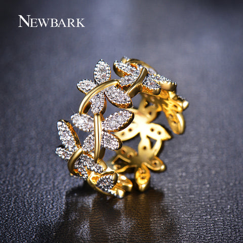 Image of Elegant Butterfly Ring