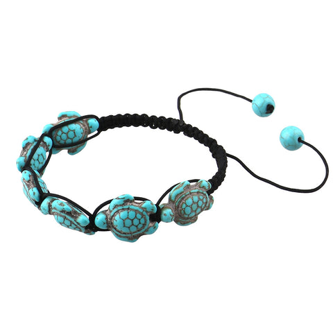 Image of Boho Turtle Bead Bracelet