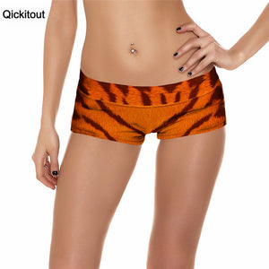 Sexy Women's High Waist Tiger Shorts