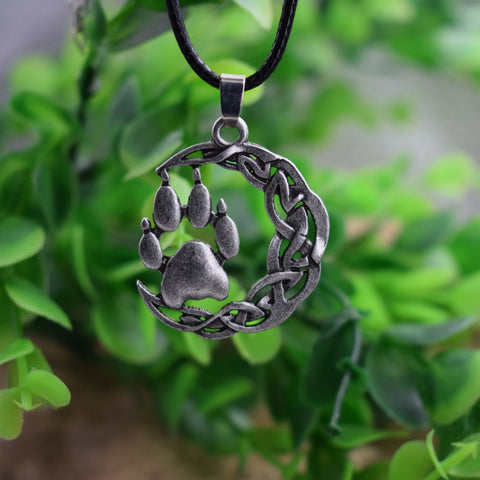 Mythology Bear Paw Necklace