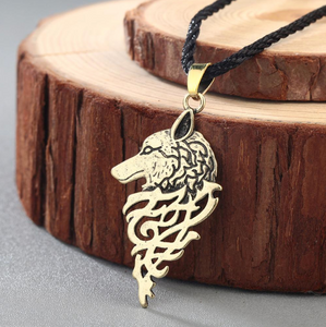 Mythical Wolf Necklace