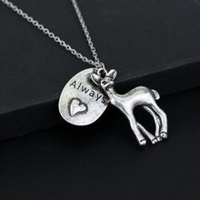 Deer Friendship Necklace