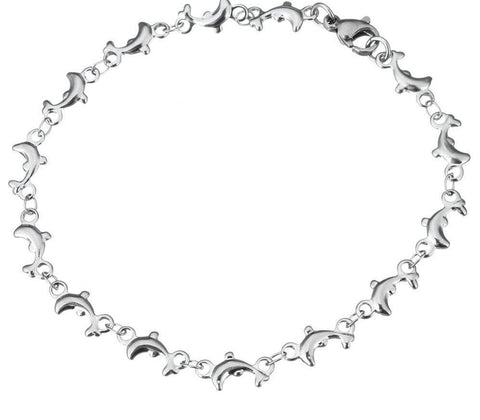 Image of Stainless Steel Bracelet Dolphin