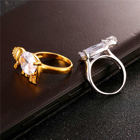 Image of Cute Elephant Ring