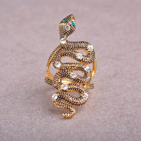 Image of Unique Snake Shaped Women's Ring