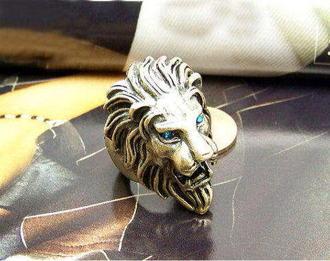 Image of Lion Head Ring