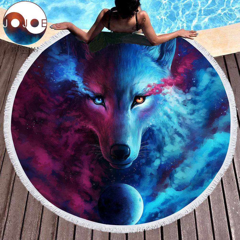 Where Light And Dark Meet: Wolf Mat