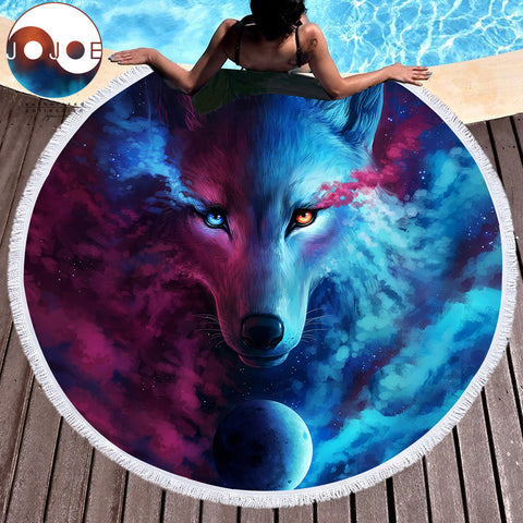 Image of Where Light And Dark Meet: Wolf Mat
