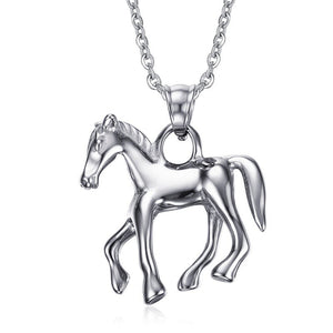 Stainless Steel Horse Pendant