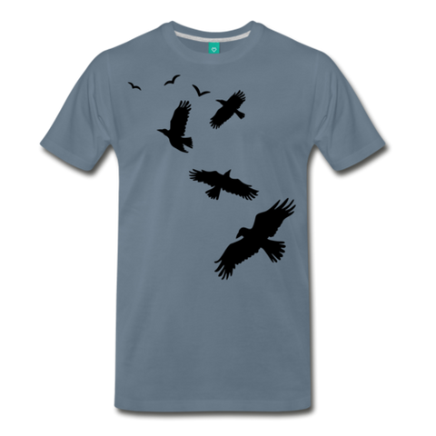 Image of Men's Flying Crows 100% Cotton T-Shirt