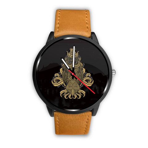 Image of Beautiful Golden Owl Watch