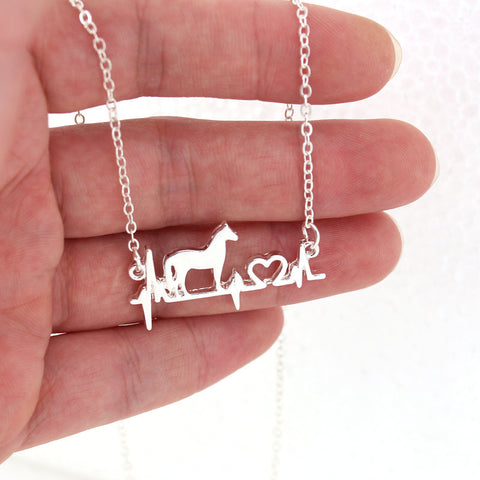 Image of Good Luck Horse Necklace