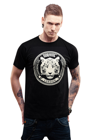 Image of Tiger of London 100% Cotton T-Shirt