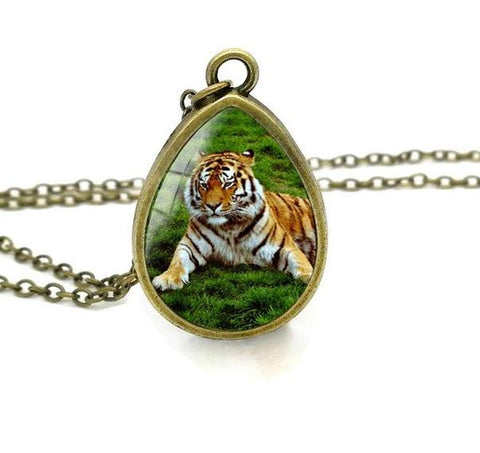 Image of Cute Baby Tiger Pendant