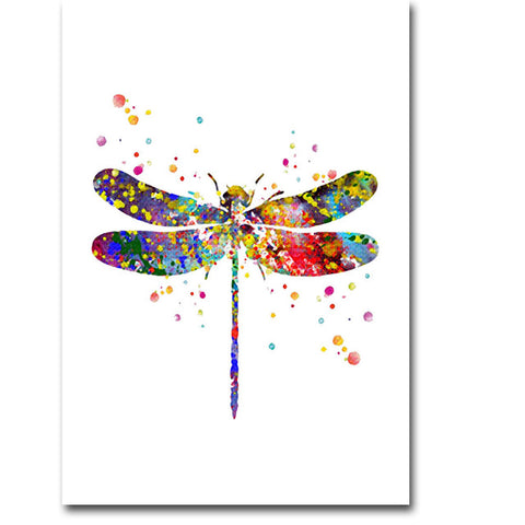 Dragonfly Canvas Poster