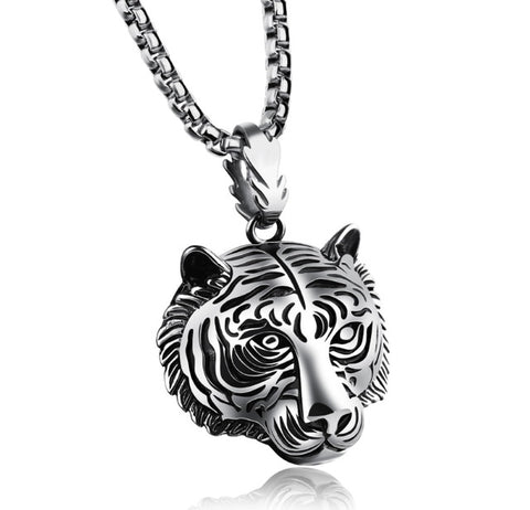 Image of Stainless Steel Tiger Pendant