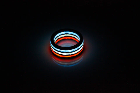 Liberty Aurora Carbon Fiber Ring