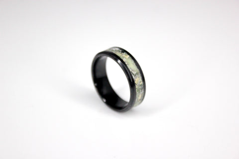 Money Inlay Ring