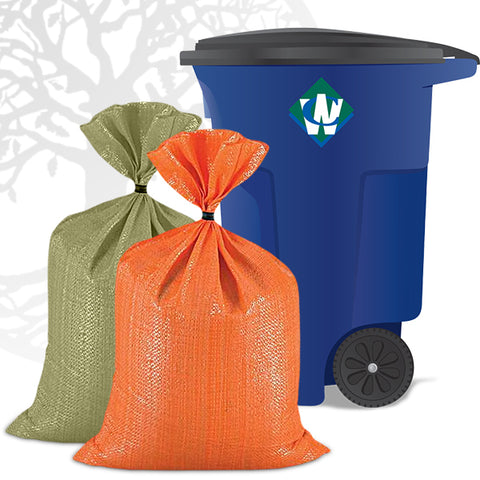Trash + Curbside Recycling Membership: Single Payment