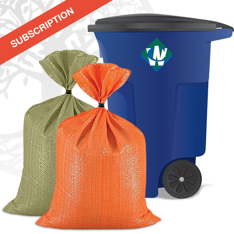 Trash + Curbside Recycling Membership: Subscription