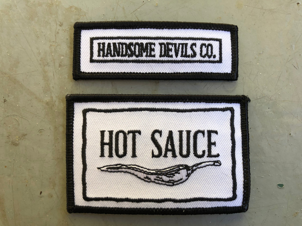 HDC Hot Sauce patch set