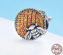 Load image into Gallery viewer, Bee Honeycomb - Origin Silver