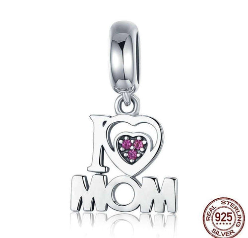 i Love Mom - Origin Silver