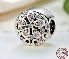 Load image into Gallery viewer, Pink Crystals Flower - OriginSilver