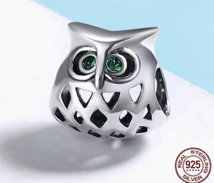 Lovely Owl Openwork - Origin Silver